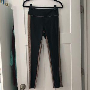 Pants - Metallic athletic leggings